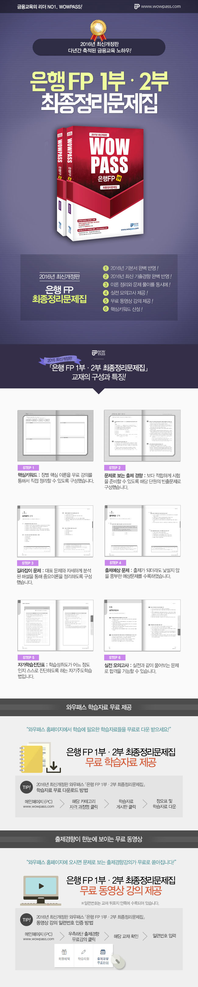 [2017년 최신개정판] 은행FP 최종정리문제집(세트)