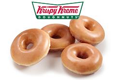 크리스피크림 도넛 받기